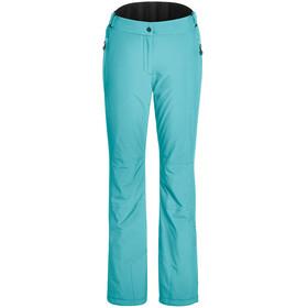 Maier Sports Vroni Slim Pantalones Stretch MTEX Mujer, Turquesa